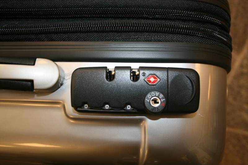 Kodelås koffert